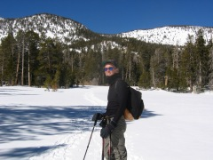 Snowshoeing at the Top of The Tram