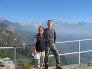 Janet & Jim, Sequoia National Park.