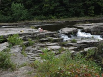 Pauline, Nugget at Salmon Falls