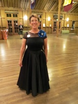 Janet before  the ball