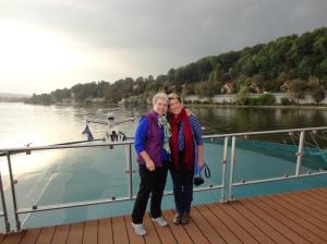 Ginny & I on the Amadeus