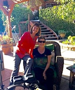 Pat & Janet celebrating Easter