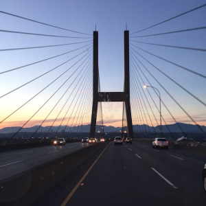 Crossing into Vancouver